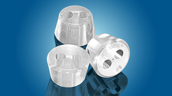 HelixMark® Two-Hole Stoppers